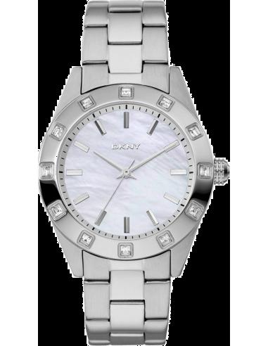 Chic Time | Montre Femme DKNY NY8660 Argent  | Prix : 95,95€