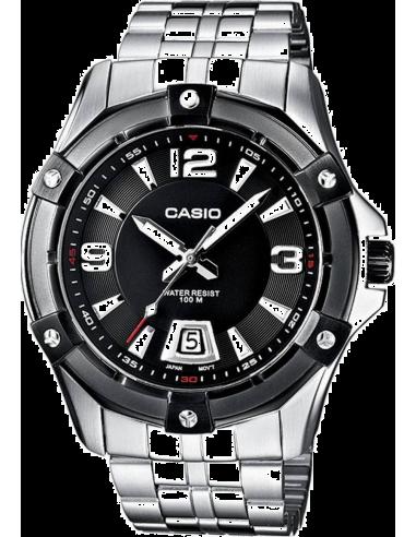 Chic Time | Montre Homme Casio Collection MTD-1062BD-1AVEF Argent  | Prix : 71,10€