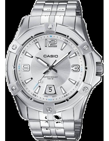 Chic Time | Montre Homme Casio Collection MTD-1062D-7AVEF Argent  | Prix : 53,00€
