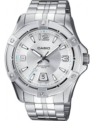 Chic Time | Montre Homme Casio Collection MTD-1062D-7AVEF Argent  | Prix : 53,00 €