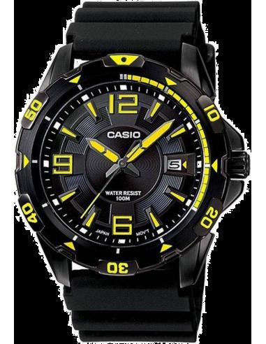 Chic Time | Montre Homme Casio Collection MTD-1065B-1A2VEF Noir  | Prix : 58,90€