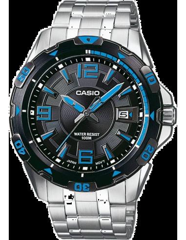 Chic Time   Montre Homme Casio Collection MTD-1065D-1AVEF Argent    Prix : 60,99€