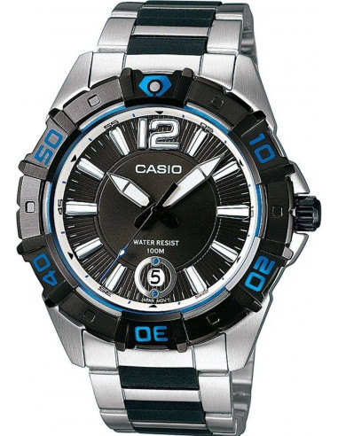 Chic Time | Montre Homme Casio Collection MTD-1070D-1A1VEF Argent  | Prix : 47,80 €