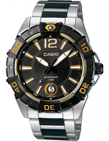 Chic Time | Montre Homme Casio Collection MTD-1070D-1A2VEF Argent  | Prix : 79,90€