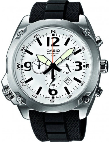 Chic Time | Montre Homme Casio Collection MTF-E002-7AVEF Noir  | Prix : 161,10€