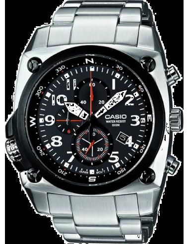 Chic Time | Montre Homme Casio Collection MTF-E004D-1AVEF Bracelet Acier Inoxydable  | Prix : 189,90€
