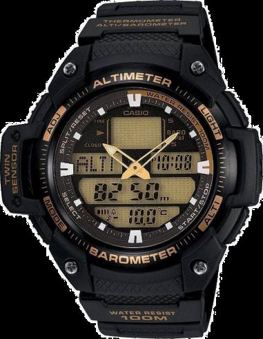 Chic Time | Montre Homme Casio Collection SGW-400H-1B2VER Noir  | Prix : 90,00€