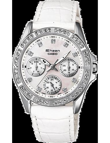 Chic Time | Montre Femme Casio Collection SHN-3013L-7AEF Blanc  | Prix : 114,00€