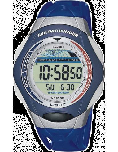 Chic Time | Montre Homme Casio Sport SPS-300-2VER Bleu  | Prix : 49,79€