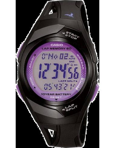 Chic Time   Montre Mixte Casio Sport STR-300-1CEF Noir    Prix : 44,10€