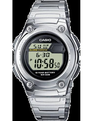 Chic Time | Montre Homme Casio Collection W-211D-1AVEF Argent  | Prix : 37,99€