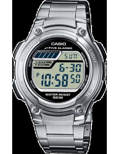 Chic Time | Montre Homme Casio Collection W-212HD-1AVEF Argent  | Prix : 42,99€
