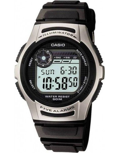 Chic Time | Montre Homme Casio Collection W-213-1AVES Noir  | Prix : 23,00€