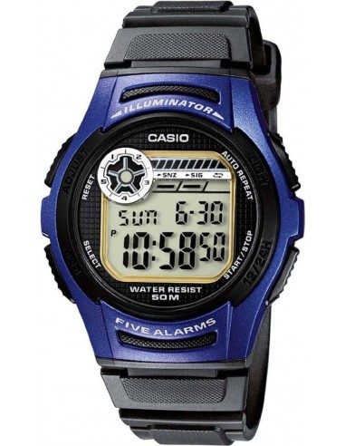 Chic Time | Montre Homme Casio Collection W-213-2AVES Noir  | Prix : 26,00€