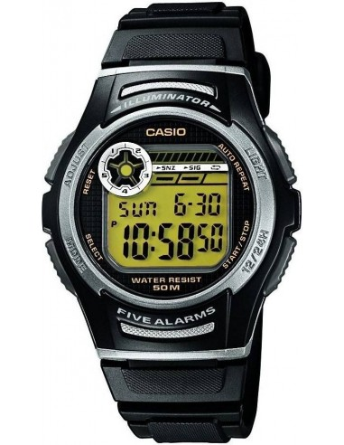 Chic Time | Montre Homme Casio Collection W-213-9AVES Noir  | Prix : 25,99 €