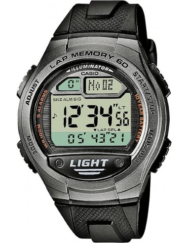 Chic Time | Montre Homme Casio Collection W-734-1AVEF Noir  | Prix : 33,99 €