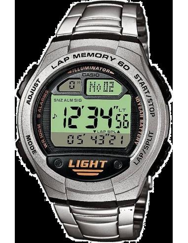 Chic Time | Montre Homme Casio Collection W-734D-1AVEF Argent  | Prix : 25,99€