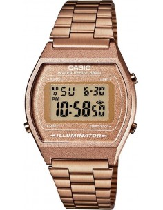 Chic Time | Montre Casio Collection B640WC-5AEF Or Rose / Bronze  | Prix : 59,00 €