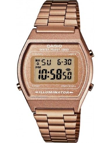 Chic Time | Montre Casio Collection B640WC-5AEF Or Rose / Bronze  | Prix : 44,25 €