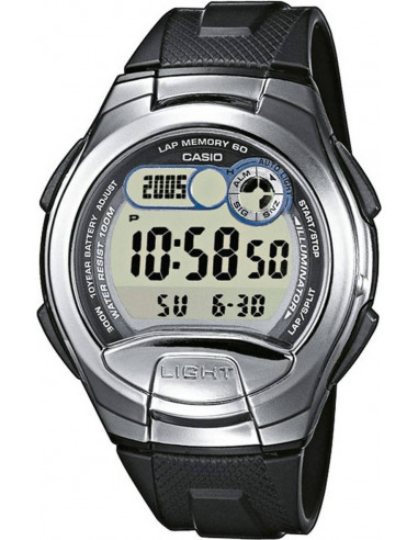 Chic Time | Montre Homme Casio Collection W-752-1AVES Noir  | Prix : 38,00€
