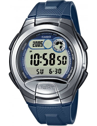 Chic Time | Montre Homme Casio Collection W-752-2AVES Bleu  | Prix : 34,00 €