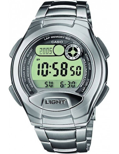 Chic Time   Montre Homme Casio Collection W-752D-1AVES Argent    Prix : 50,00€