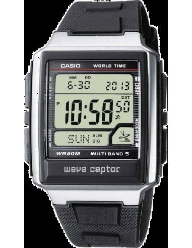 Chic Time | Montre Homme Casio Wave Ceptor Radio Controlled WV-59E-1AVEF Bracelet Résine Noir  | Prix : 46,10€