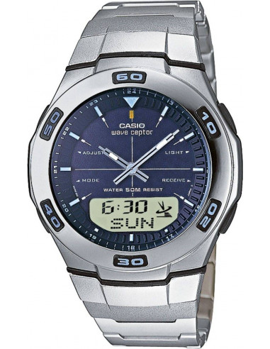 Chic Time | Montre Homme Casio Wave Ceptor Radio Controlled WVA-105HDE-2AVER  | Prix : 99,00 €