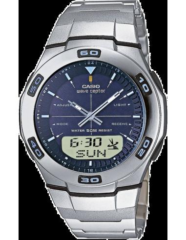 Chic Time | Montre Homme Casio Wave Ceptor Radio Controlled WVA-105HDE-2AVER  | Prix : 99,00€