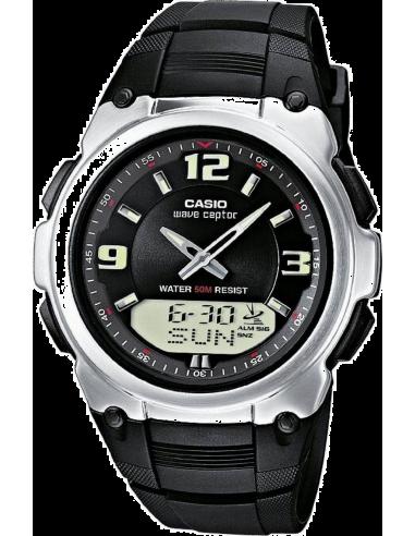 Chic Time | Montre Homme Casio Waveceptor WVA-109HE-1BVER Noir  | Prix : 79,00€
