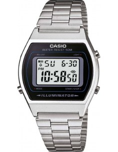 Chic Time | Montre Casio Collection B640WD-1AVEF Argent  | Prix : 39,20 €