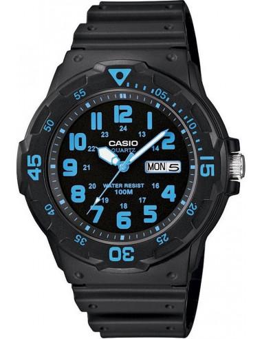 Chic Time | Montre Homme Casio Collection MRW-200H-2BVEF Noir  | Prix : 27,99€
