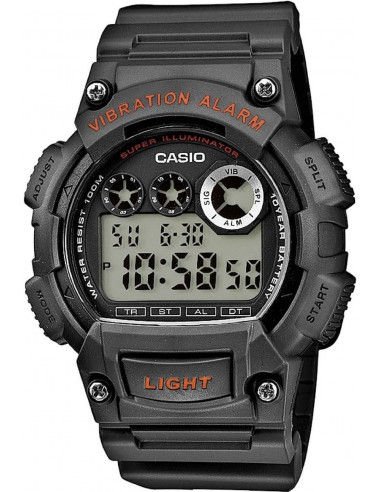 Chic Time | Montre Homme Casio Collection W-735H-8AVEF Noir  | Prix : 39,90 €