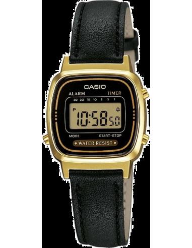 Chic Time   Casio Casio Collection LA670WEGL-1EF Noir    Prix : 37,00€