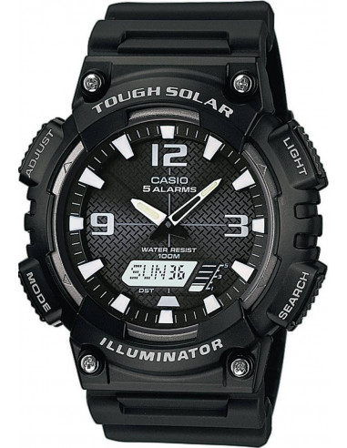 Chic Time | Montre Homme Casio Collection AQ-S810W-1AVEF Noir  | Prix : 27,99 €