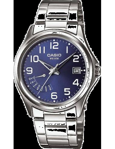 Chic Time   Montre Homme Casio Collection MTP-1369D-2BVEF Argent    Prix : 49,00€