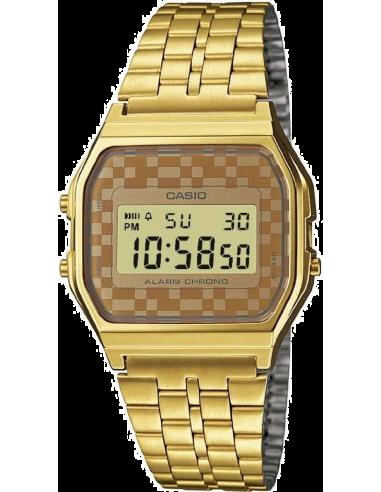Chic Time | Montre Casio Collection Vintage A159WGEA-9AEF Or Affichage alphanumérique  | Prix : 36,75€