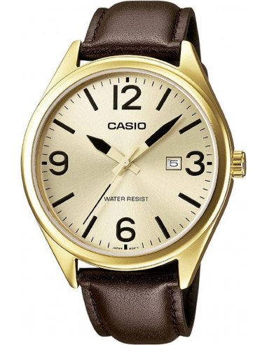 Chic Time | Montre Homme Casio Collection MTP-1342L-9BEF Marron  | Prix : 53,10€