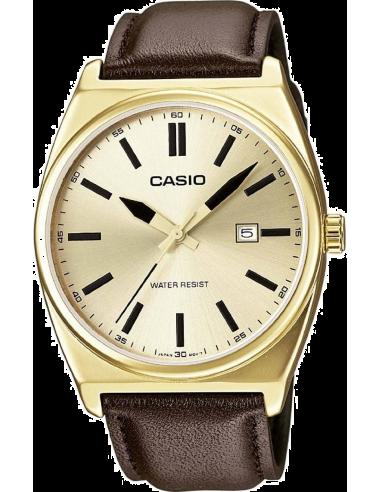 Chic Time   Montre Homme Casio Collection MTP-1343L-9BEF Marron    Prix : 69,99€