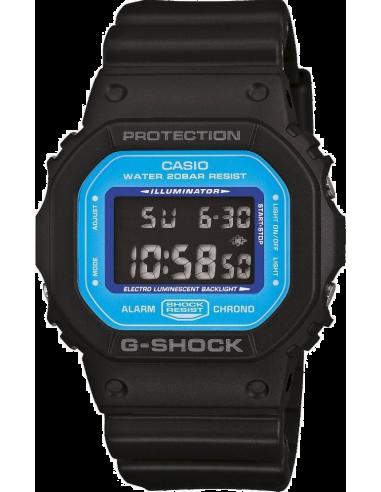 Chic Time | Montre Homme Casio G-Shock DW-5600SN-1ER Noir  | Prix : 80,10€
