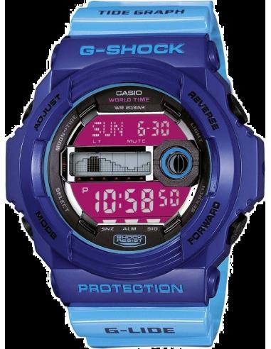 Chic Time | Montre Homme Casio G-Shock GLX-150-2ER Bleu  | Prix : 99,00€