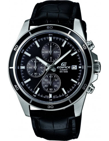 Chic Time | Montre Homme Casio Edifice EFR-526L-1AVUEF Noir  | Prix : 64,99€