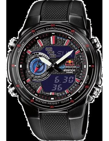 Chic Time | Montre Homme Casio Edifice EFA-131RBSP-1BVEF Red Bull Edition Limitée  | Prix : 129,00€