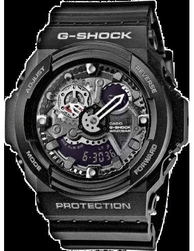 Chic Time | Montre Homme Casio G-Shock GA-300-1AER Noir  | Prix : 107,39€