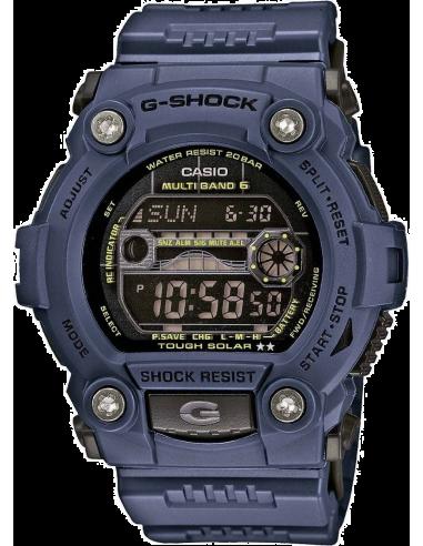 Chic Time | Montre Homme Casio G-Shock GW-7900NV-2ER Bleu  | Prix : 138,00€