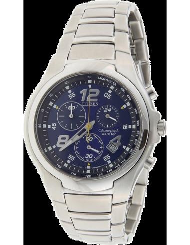 Chic Time   Montre Homme Citizen AN7010-51L Bracelet Acier Inoxydable    Prix : 289,00€