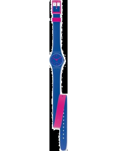 Chic Time | Montre Femme Swatch Originals Biko Bloo LS115  | Prix : 40,00€