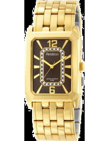 Chic Time | Montre Homme Armitron 20M4210BNGP Swarovski Crystal  | Prix : 109,90€