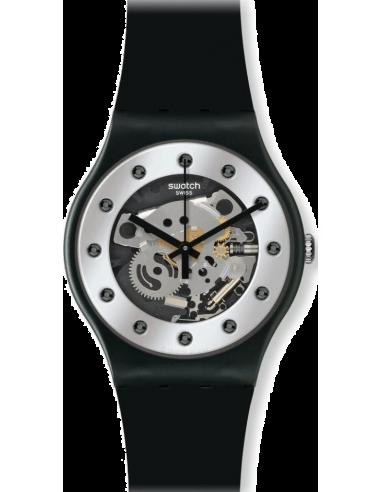 Chic Time | Montre Femme Swatch Originals Silver Glam SUOZ147  | Prix : 49,90€