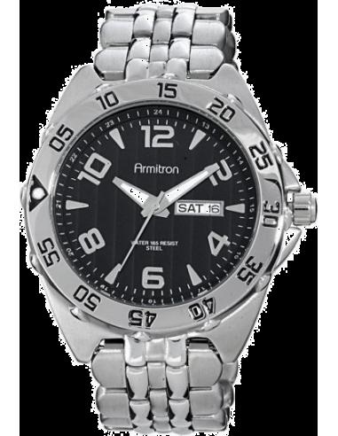 Chic Time   Armitron 204665BKSV men's watch    Buy at best price